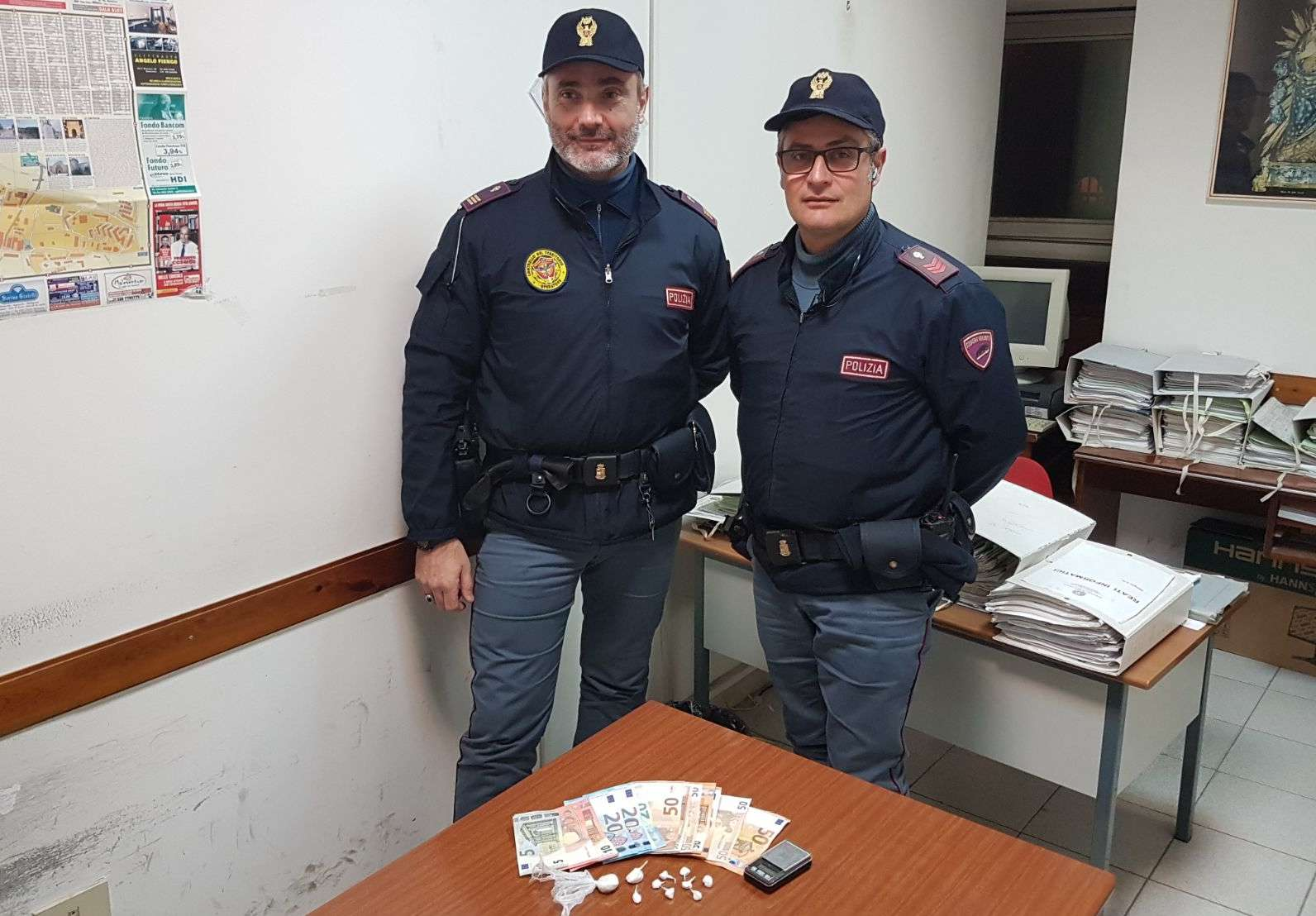 Benevento, nascondeva cocaina: pusher arrestato dalla Polizia