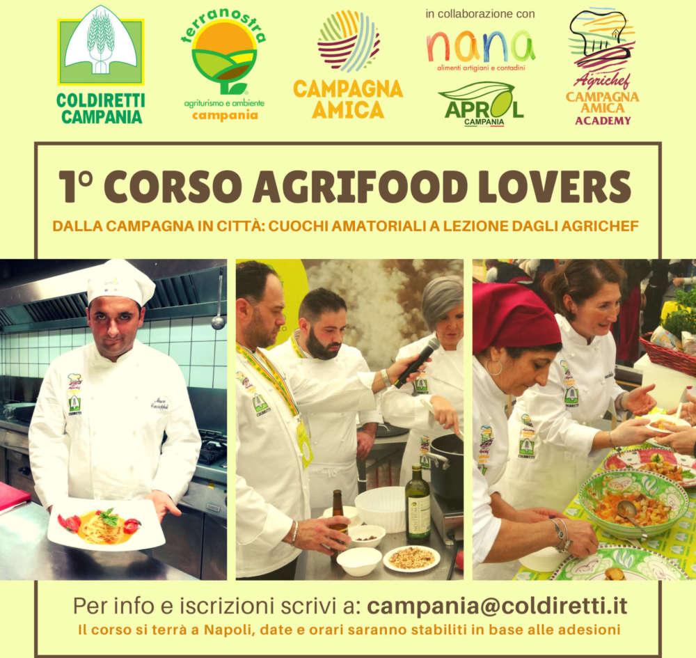 """""""Agrifood Lovers"""": a scuola di cucina e cibo sano con gli agrichef"""