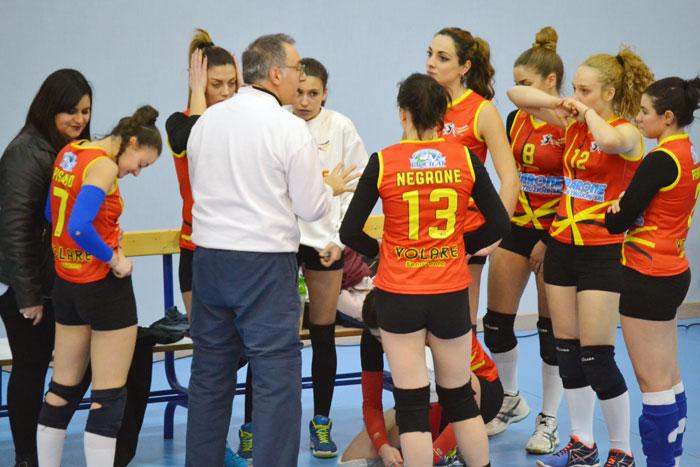 Lo scontro diretto va al Cava Volley, nulla da fare per la Volare Benevento