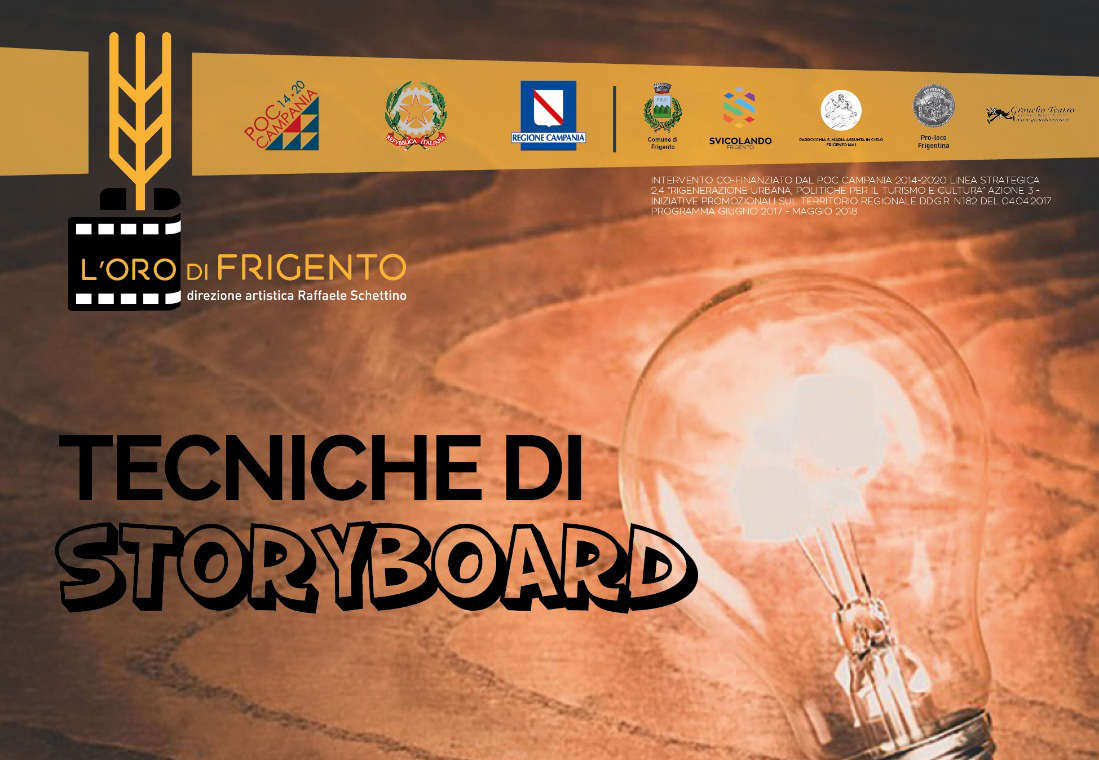 Auditorium di Frigento: incontro con l'animatore e storyboard artist Orlandelli