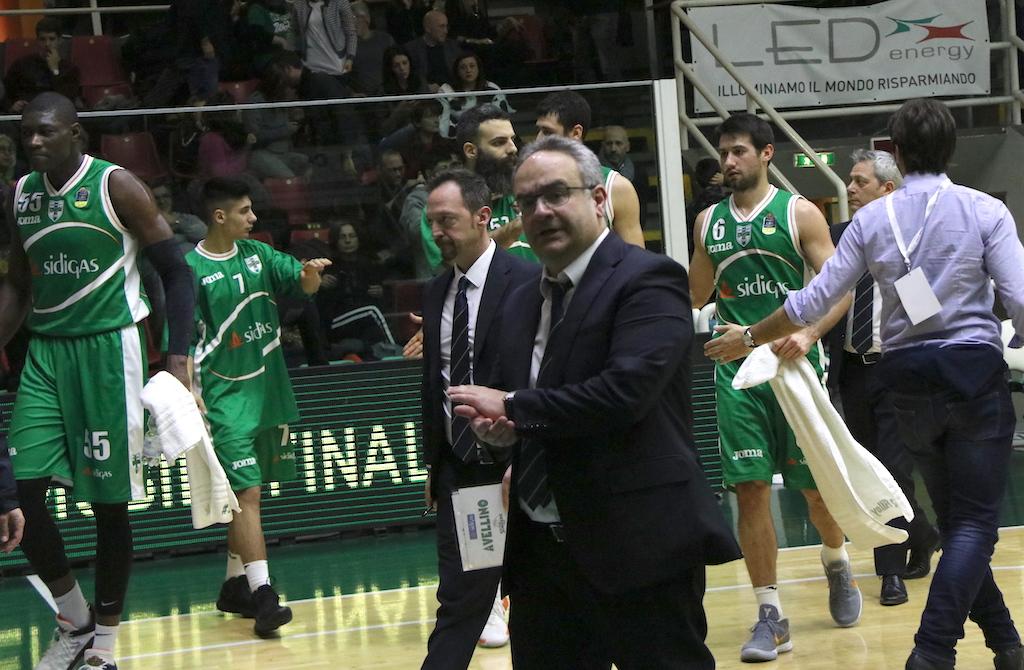 """Sidigas Avellino, Sacripanti: """"La nostra finale è con Cremona. Fesenko…"""""""