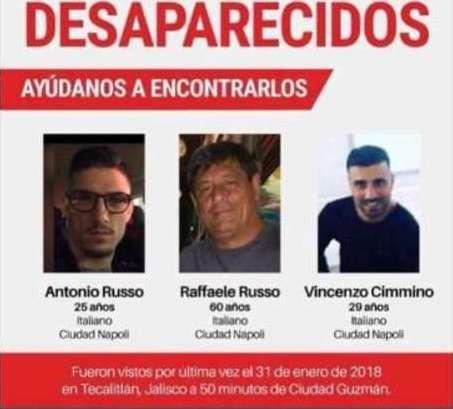 Svolta sui tre napoletani scomparsi in Messico, arrestati tre poliziotti
