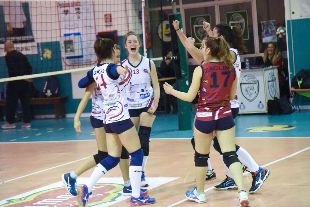 Green Volley The Marcello's scatto salvezza: battuta Fiamma Torrese 3 a 0