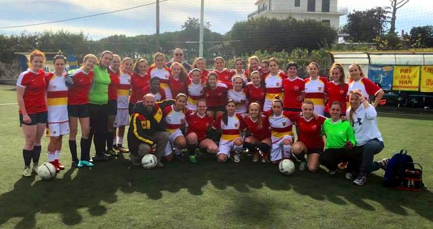 """Le Streghe a """"stelle e strisce"""": amichevole e integrazione per le giallorosse"""