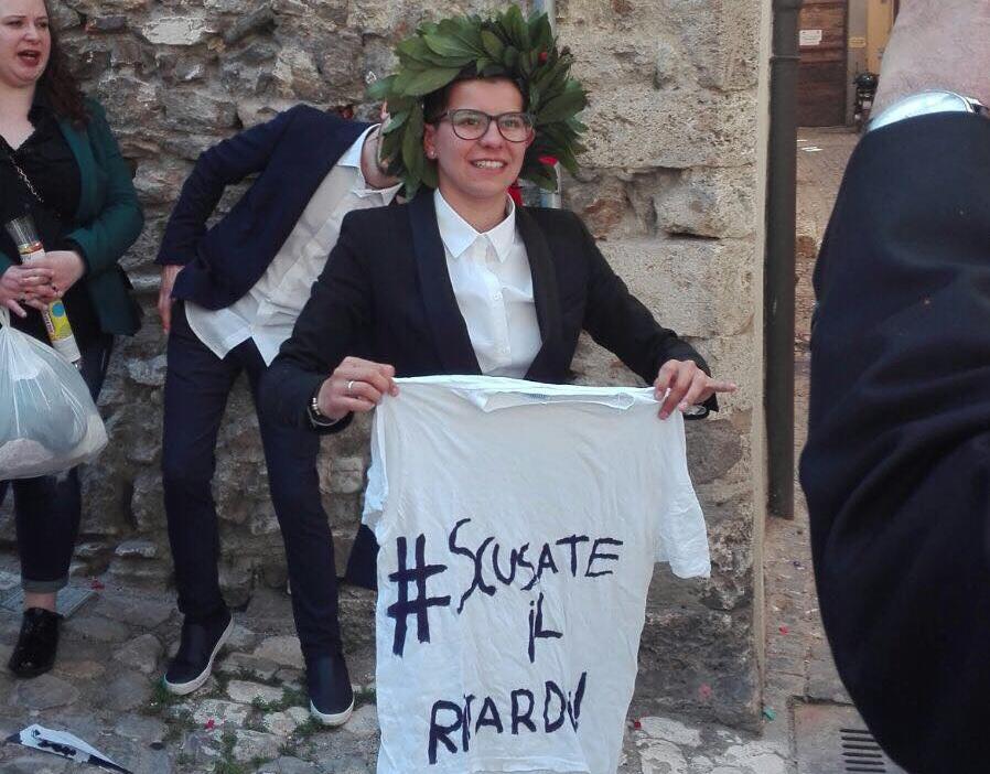 """""""Cronache di Narni"""": Maria Elena agguanta la laurea in trasferta"""