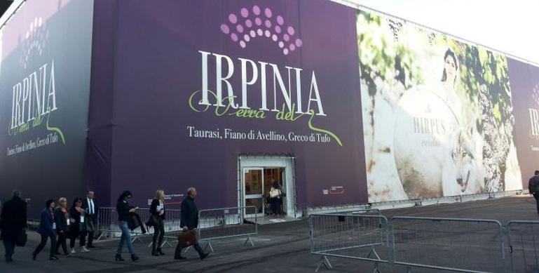 L'Irpinia all'assalto di Vinitaly: circa novantanove espositori presenti