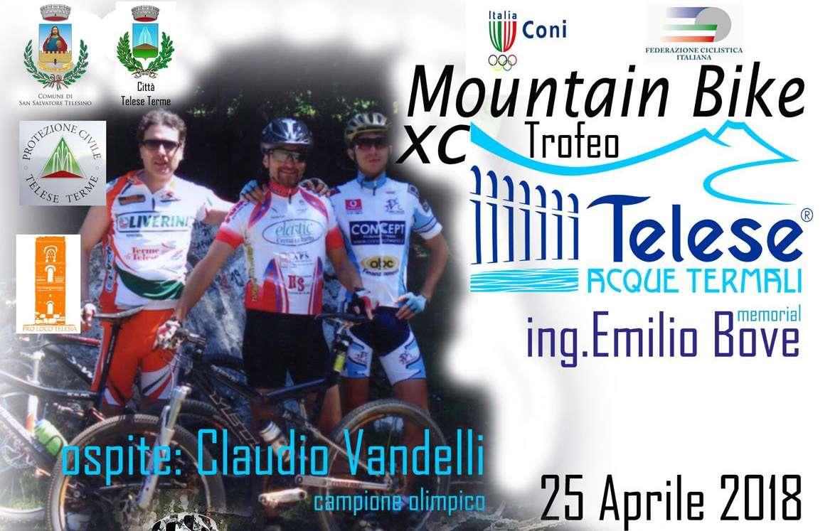Trofeo Mountain Bike, a Telese il campione olimpico Claudio Vandelli