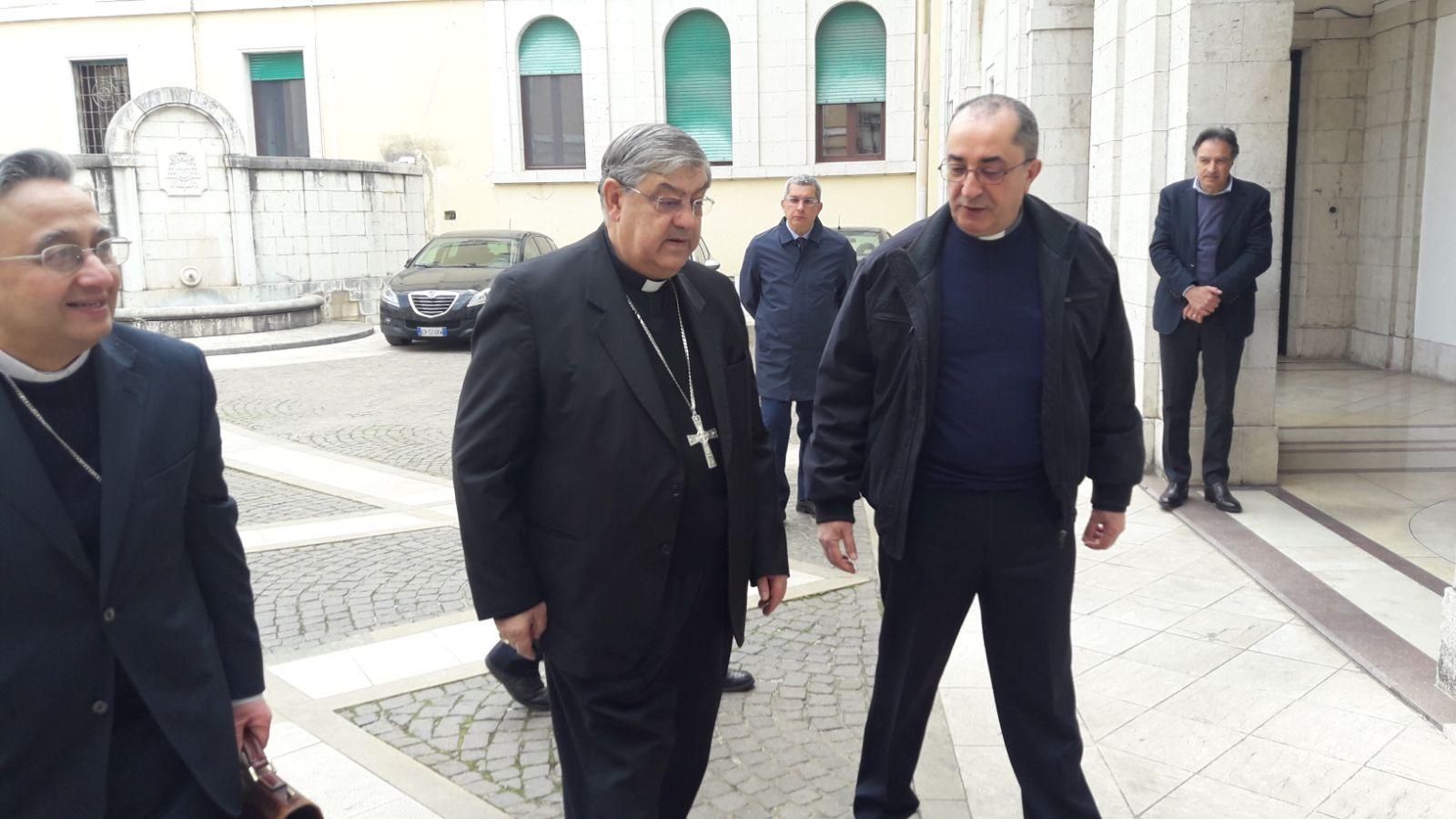 Prima giornata della Conferenza Episcopale: in città i 28 vescovi della Campania