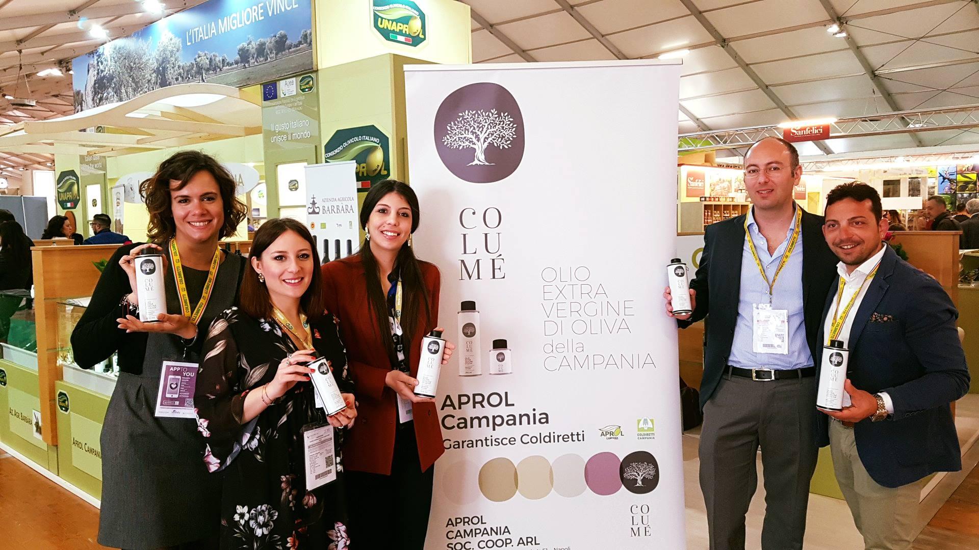 Al Vinitaly debutto per 'Columé', primo blend di olio extravergine 100% campano