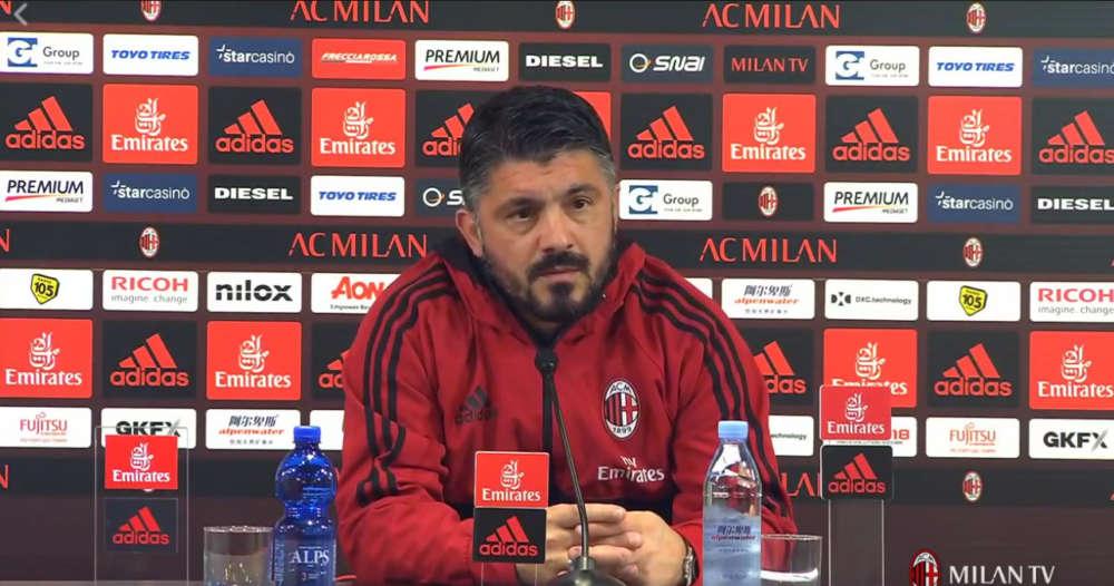 """Gattuso cancella le polemiche con De Zerbi: """"Bravo, Benevento sbarazzino"""""""