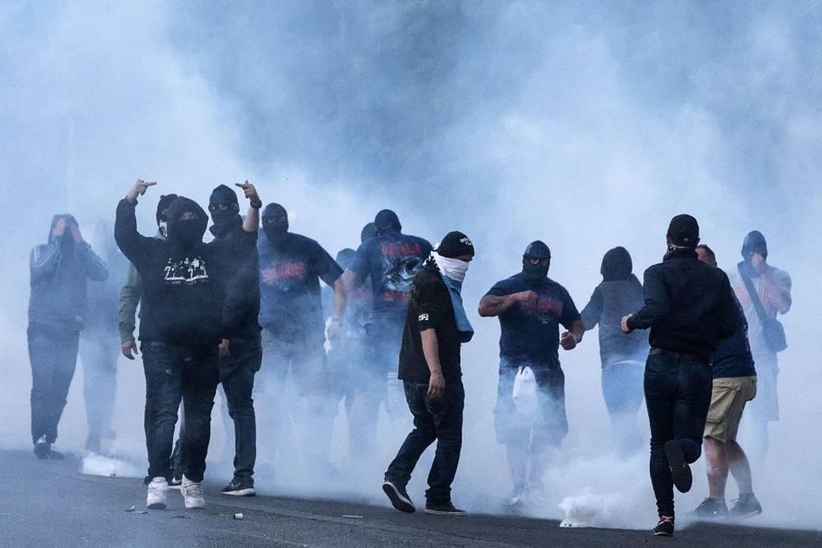 Napoli, scontri ultras a Zurigo prima della sfida di Europa League