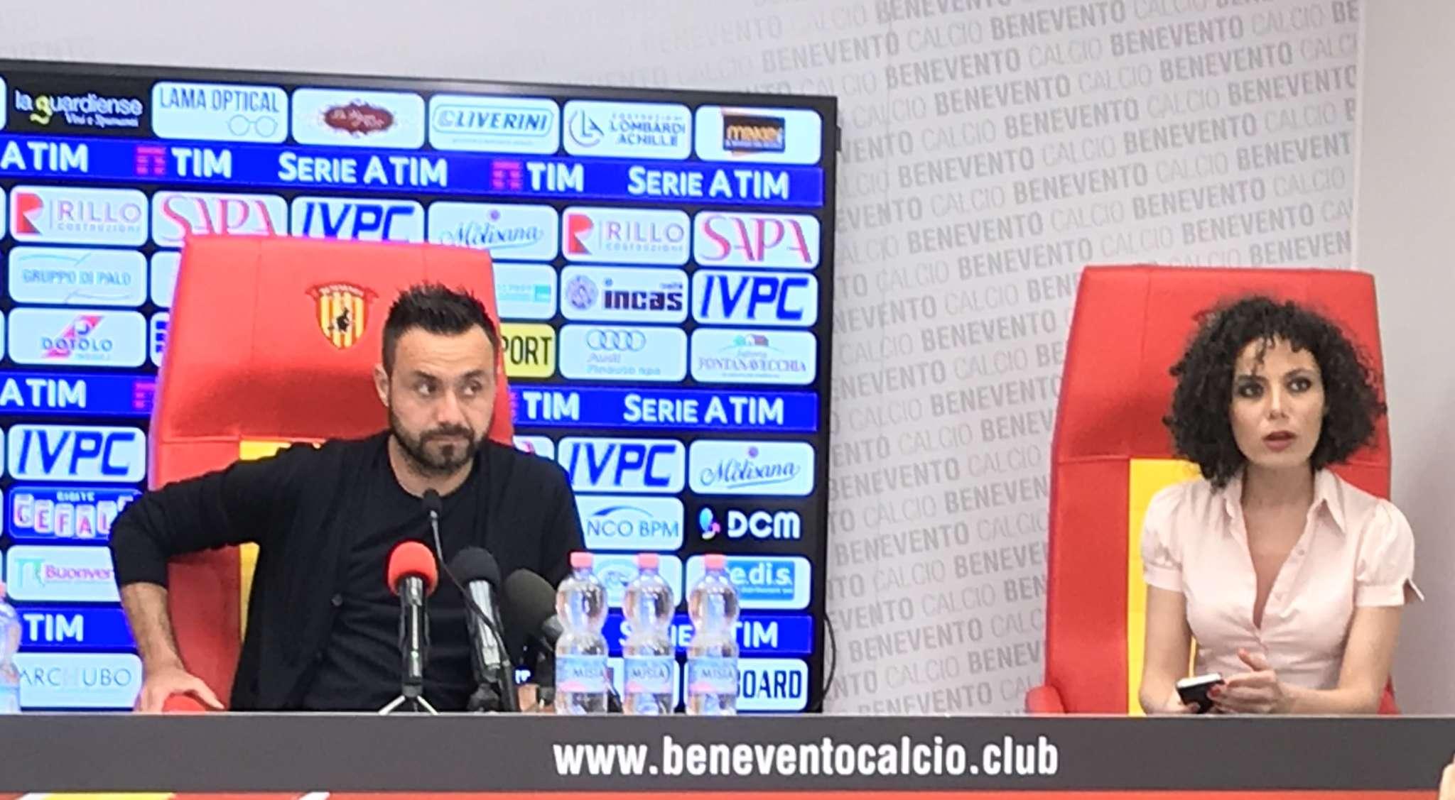 """Cade l'ultimo velo, l'annuncio di De Zerbi: """"Non sarò più l'allenatore del Benevento"""""""