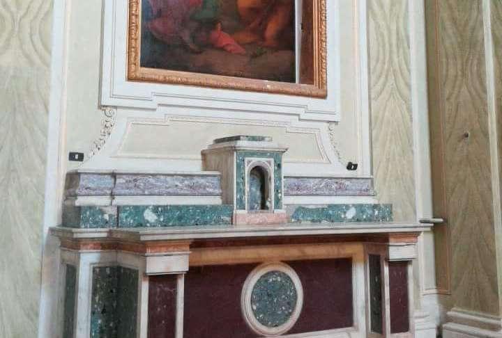 La pala d'altare del Real Sito di Carditello è tornata a casa