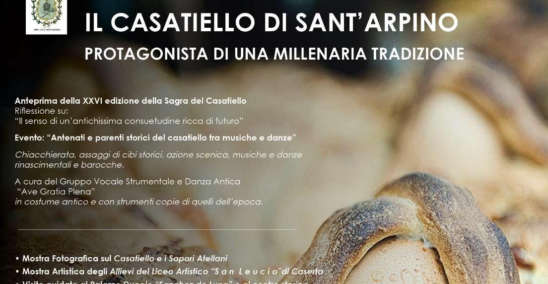 Il casatiello di Sant'Arpino tra musiche, danze e costumi rinascimentali