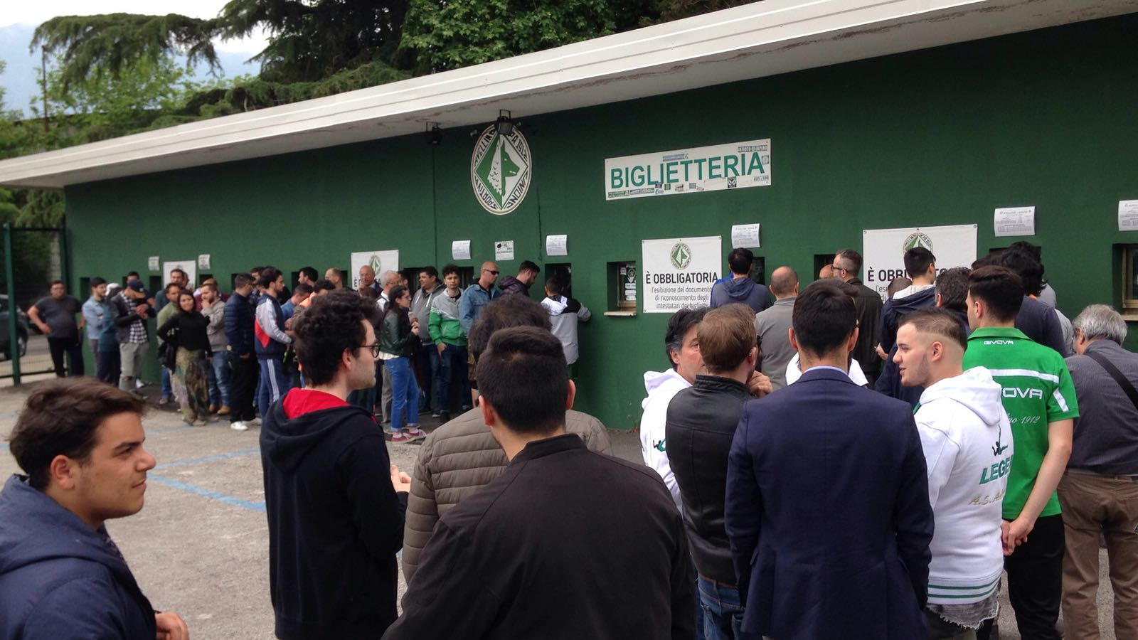 Avellino-Torres, la società chiama a raccolta i tifosi