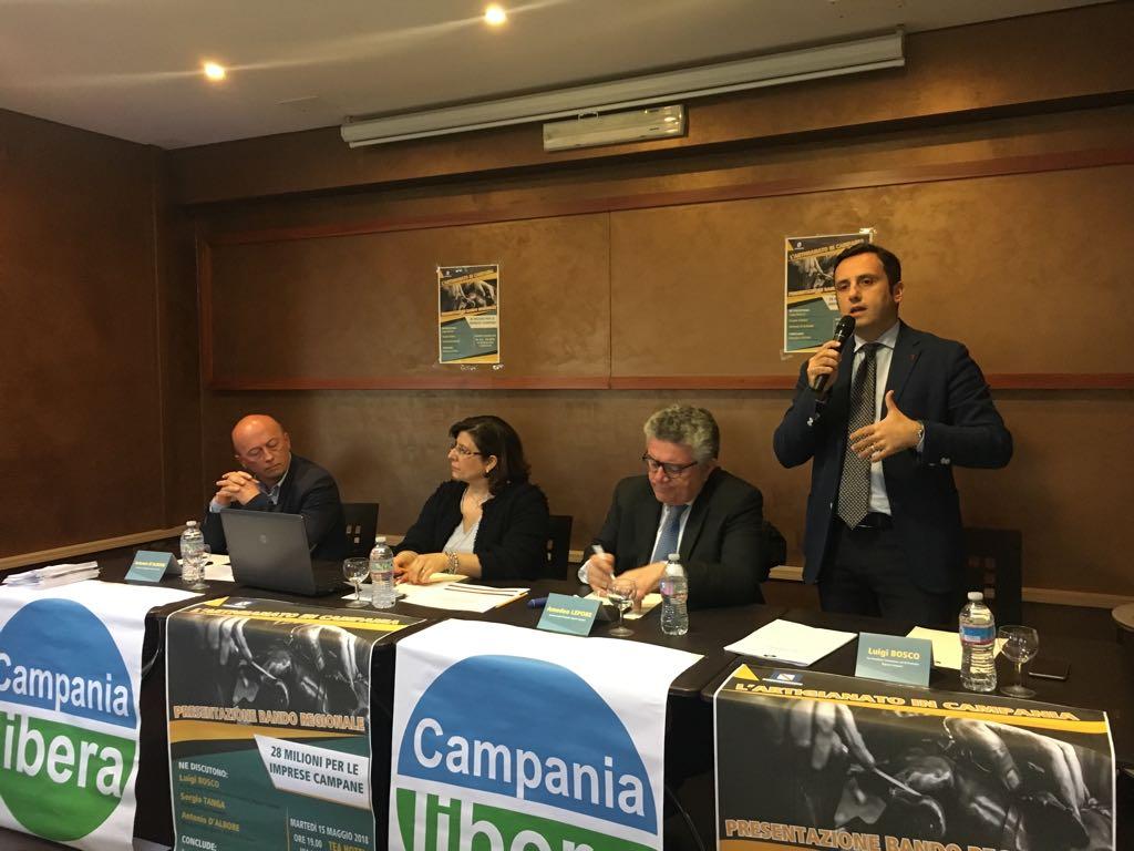 """Artigianato, Bosco: """"A Casapulla l'incubatore di mestieri tradizionali"""""""