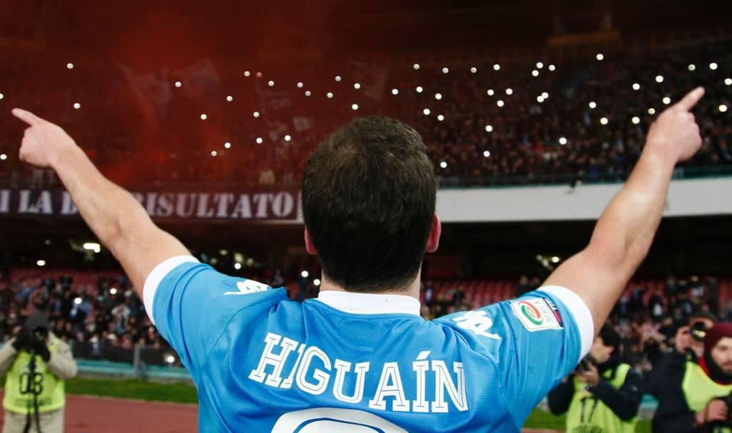 Higuain Napoli, l'argentino ricorda il passato:
