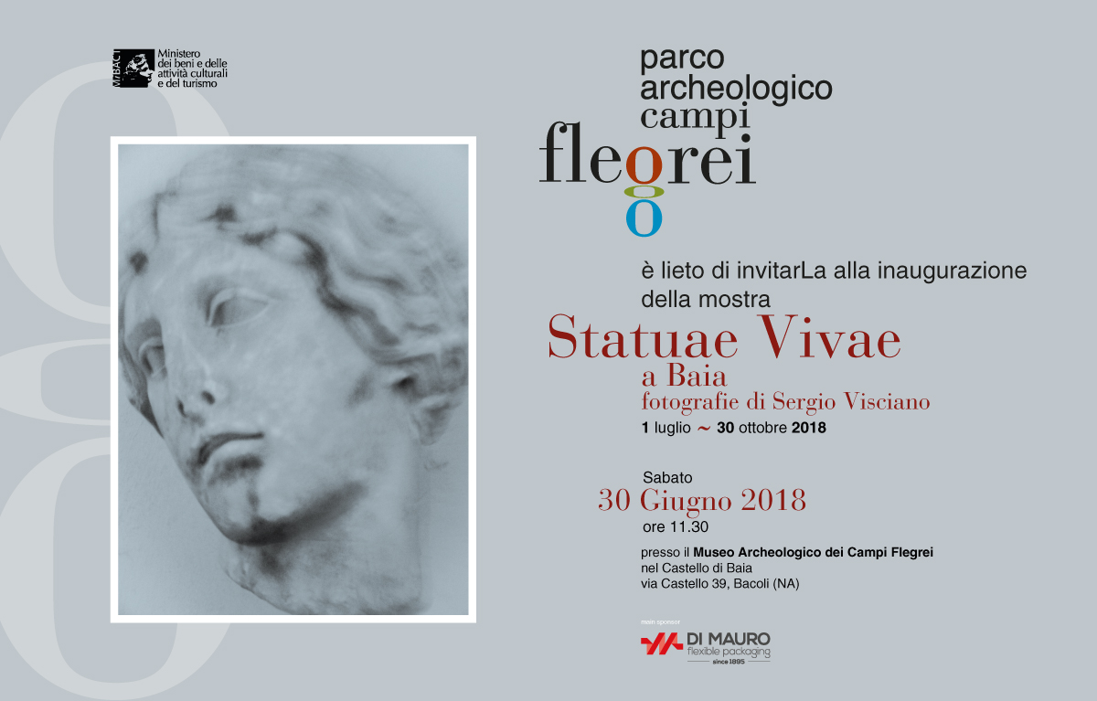 """""""Statuae Vivae"""" di Sergio Visciano: mostra fotografica al Castello di Baia"""