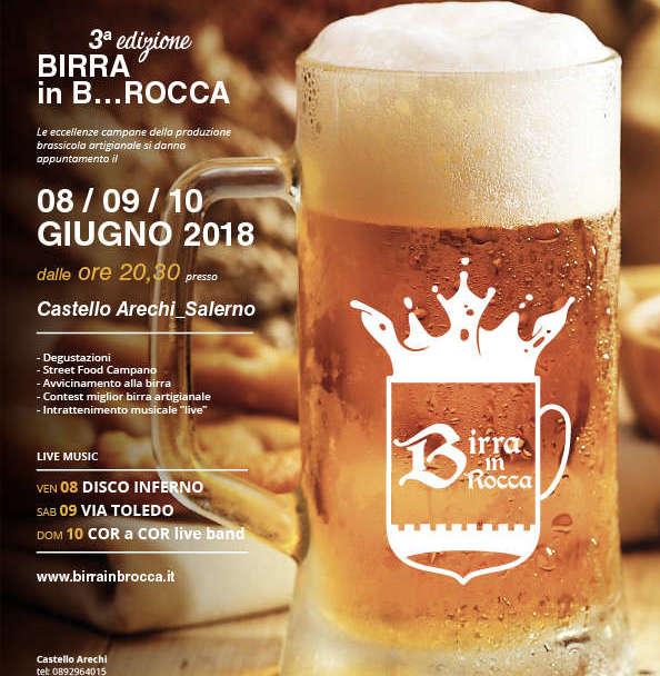 Torna a Salerno la manifestazione Birra in B…Rocca!