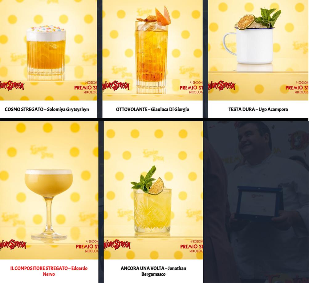 I cocktail finalisti dello Strega Mixology, tra letteratura e arte del drink