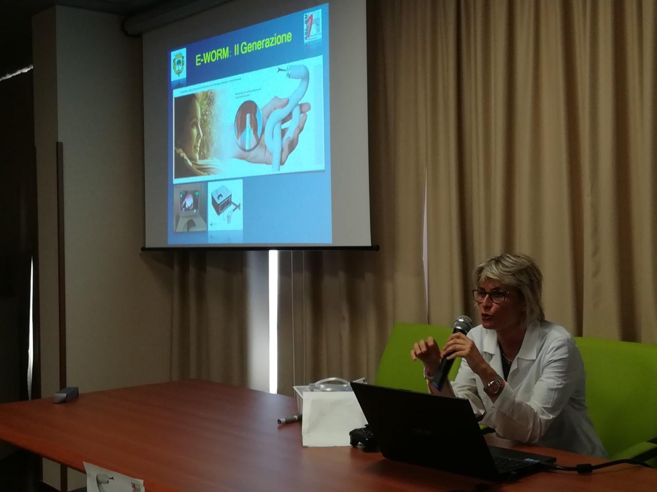 Colonscopia Robotica, la Asl ha presentato il metodo Endotics