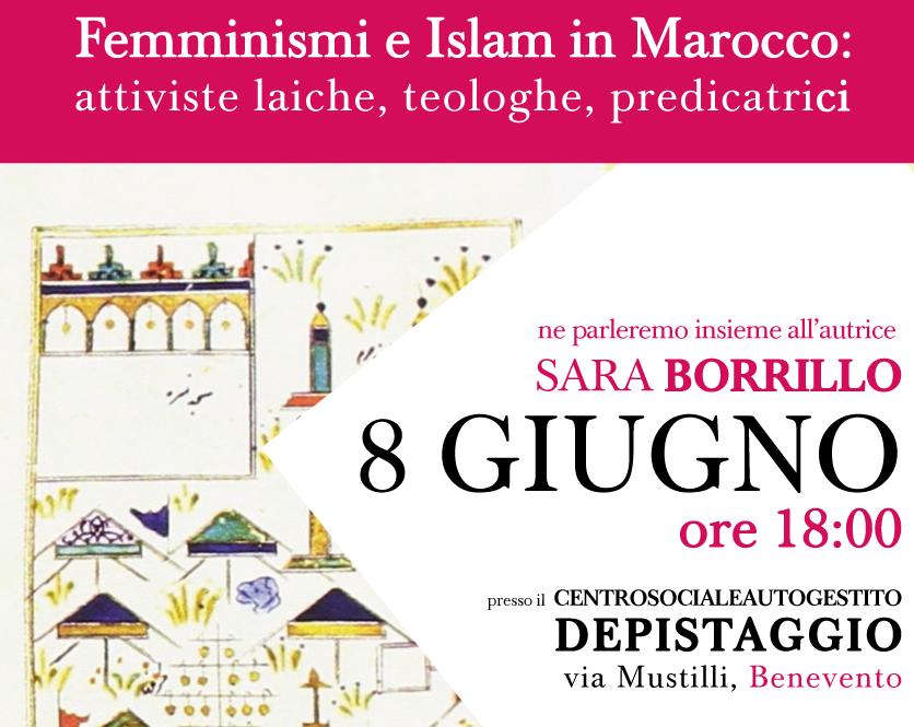 """""""Femminismi e Islam in Marocco"""", incontro con l'autrice Sara Borrillo"""