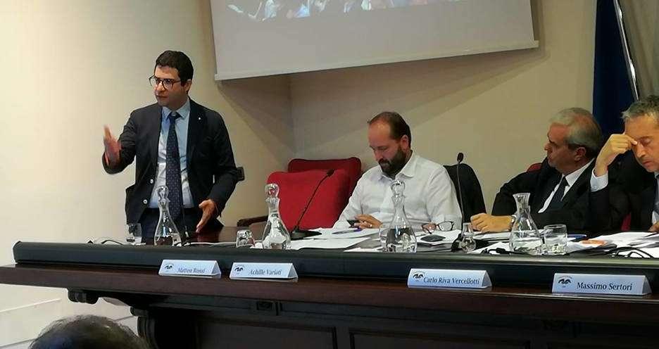 Salerno, Cerretani a Bergamo per l'assemblea delle province