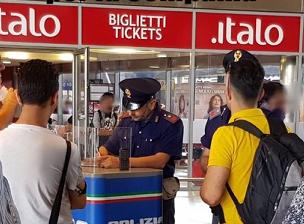 Controlli straordinari alla stazione centrale: identificate 168 persone