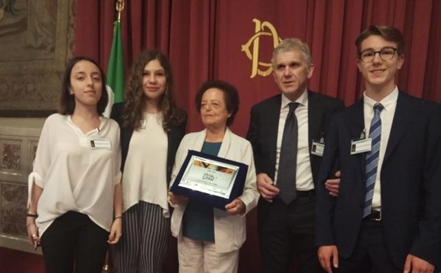 """Gli studenti del """"Giannone"""" a Montecitorio per il Premio Strega Giovani"""