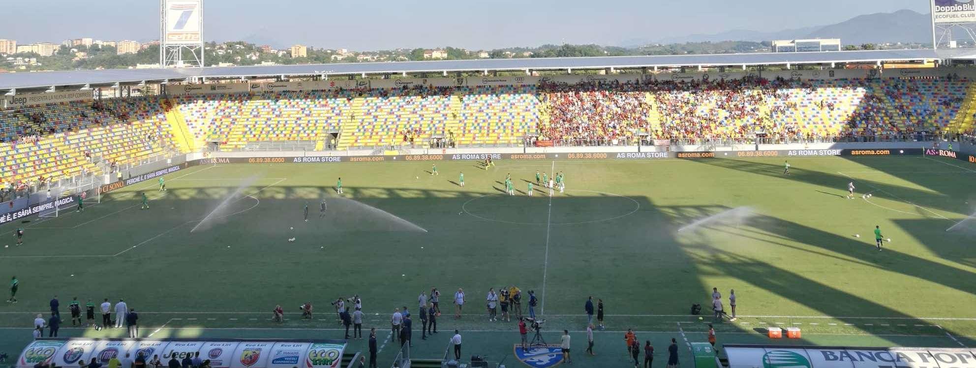 LIVE/ Roma-Avellino, le formazioni ufficiali: dieci minuti di ritardo per il match