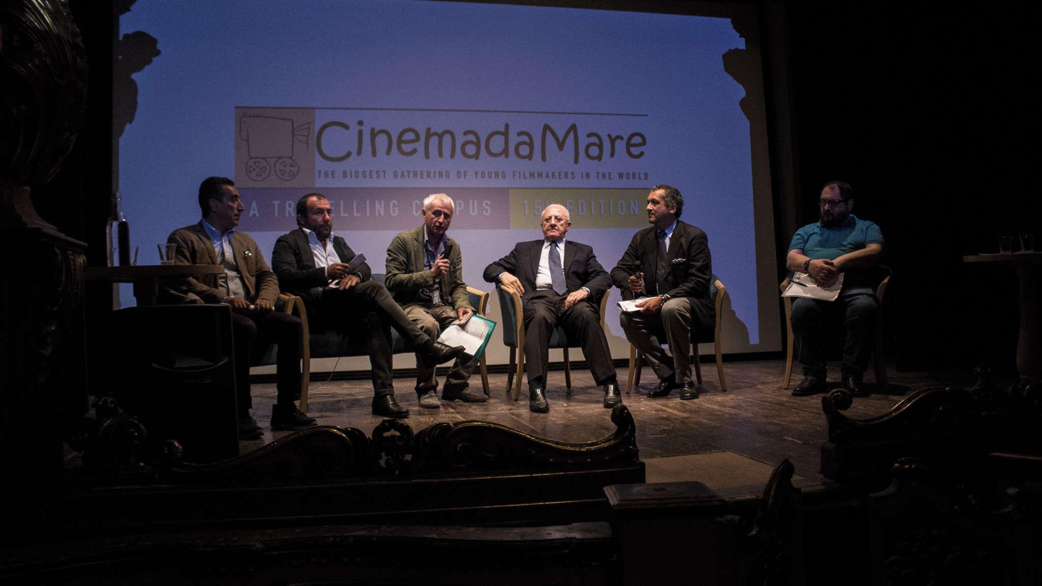 Presentata la tappa napoletana di 'CinemadaMare'