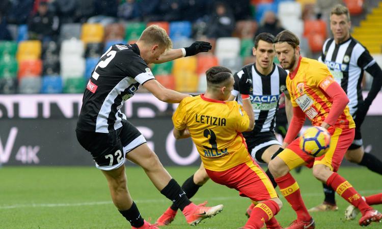 Udinese-Benevento in coppa con un anno di ritardo: la Strega rincorre la storia