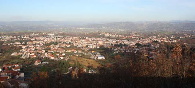 Sviluppo del Sistema Territoriale delle Colline Beneventane, intesa con la Regione