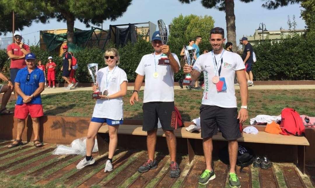 Canoa velocità, Trofeo Nazionale CONI: il CircoloPosillipo chiude terzo