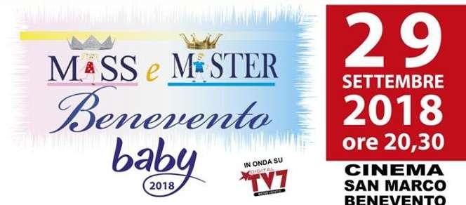 """""""Miss e Mister Benevento Baby"""", il 29 settembre al Teatro San Marco"""