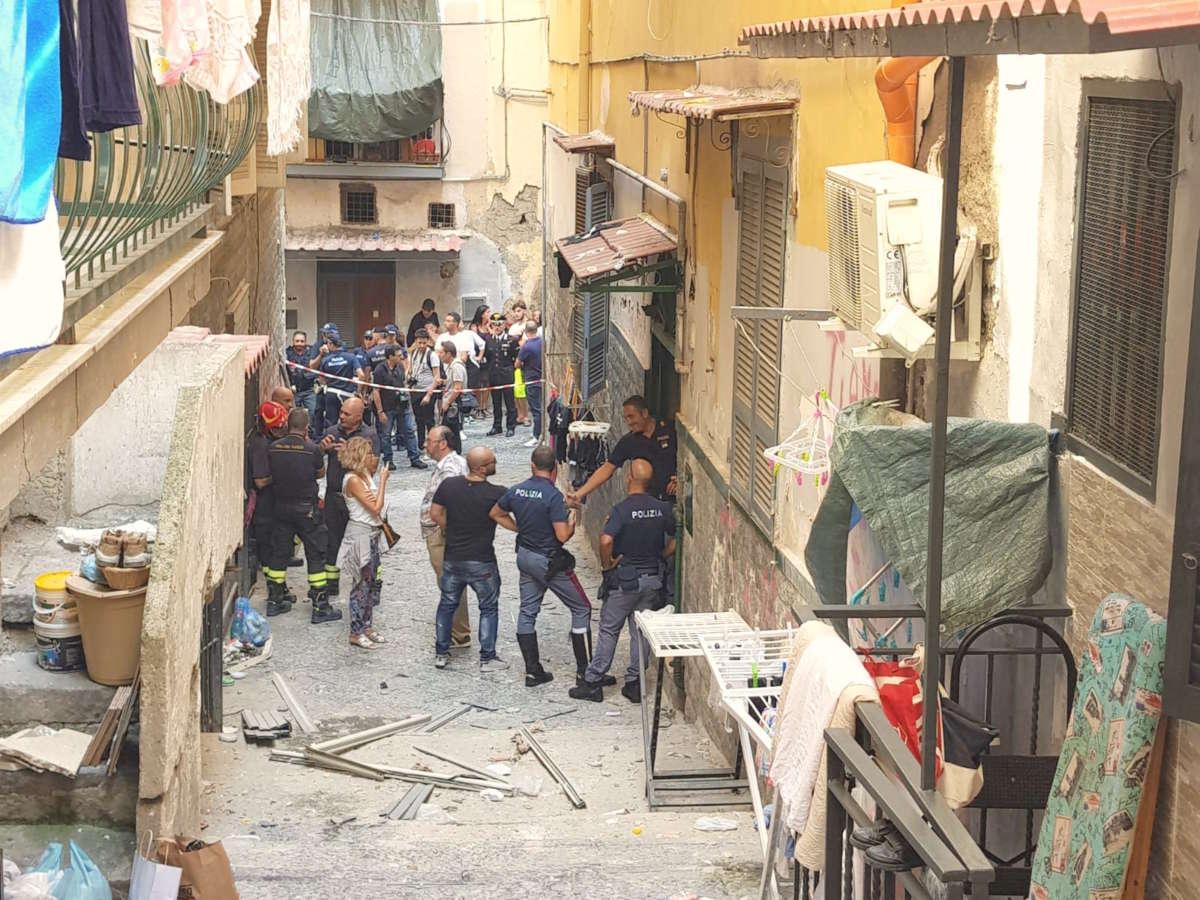 Esplosione alla Pignasecca: patto tra madre e figlio