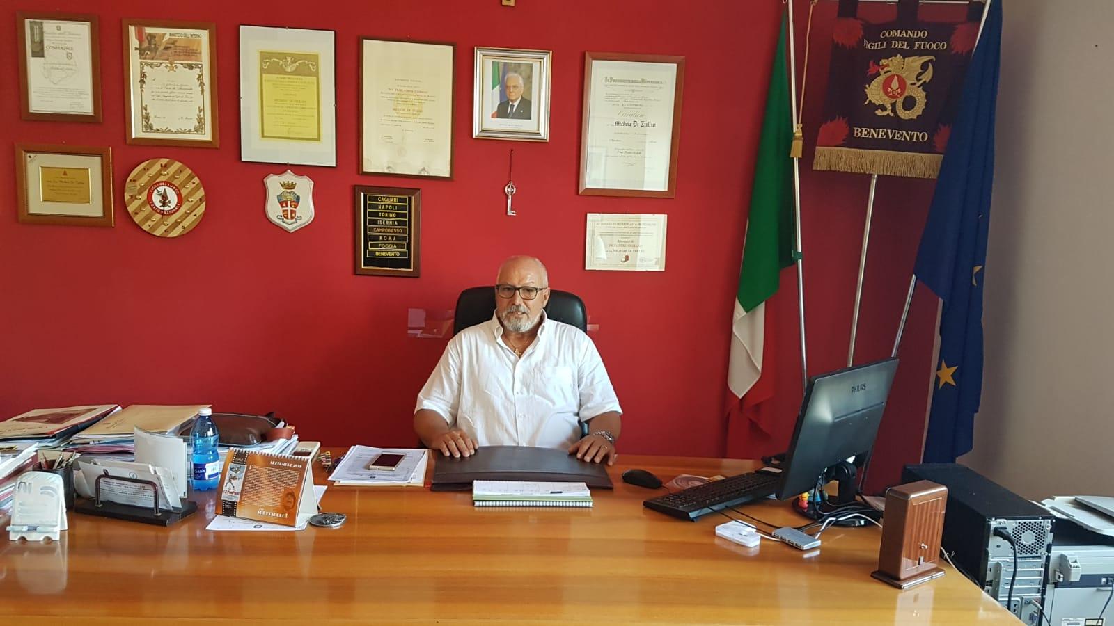 """Vigili del Fuoco, Di Tullio saluta: """"Dall'alluvione allo Stir, porto via tanti ricordi"""""""