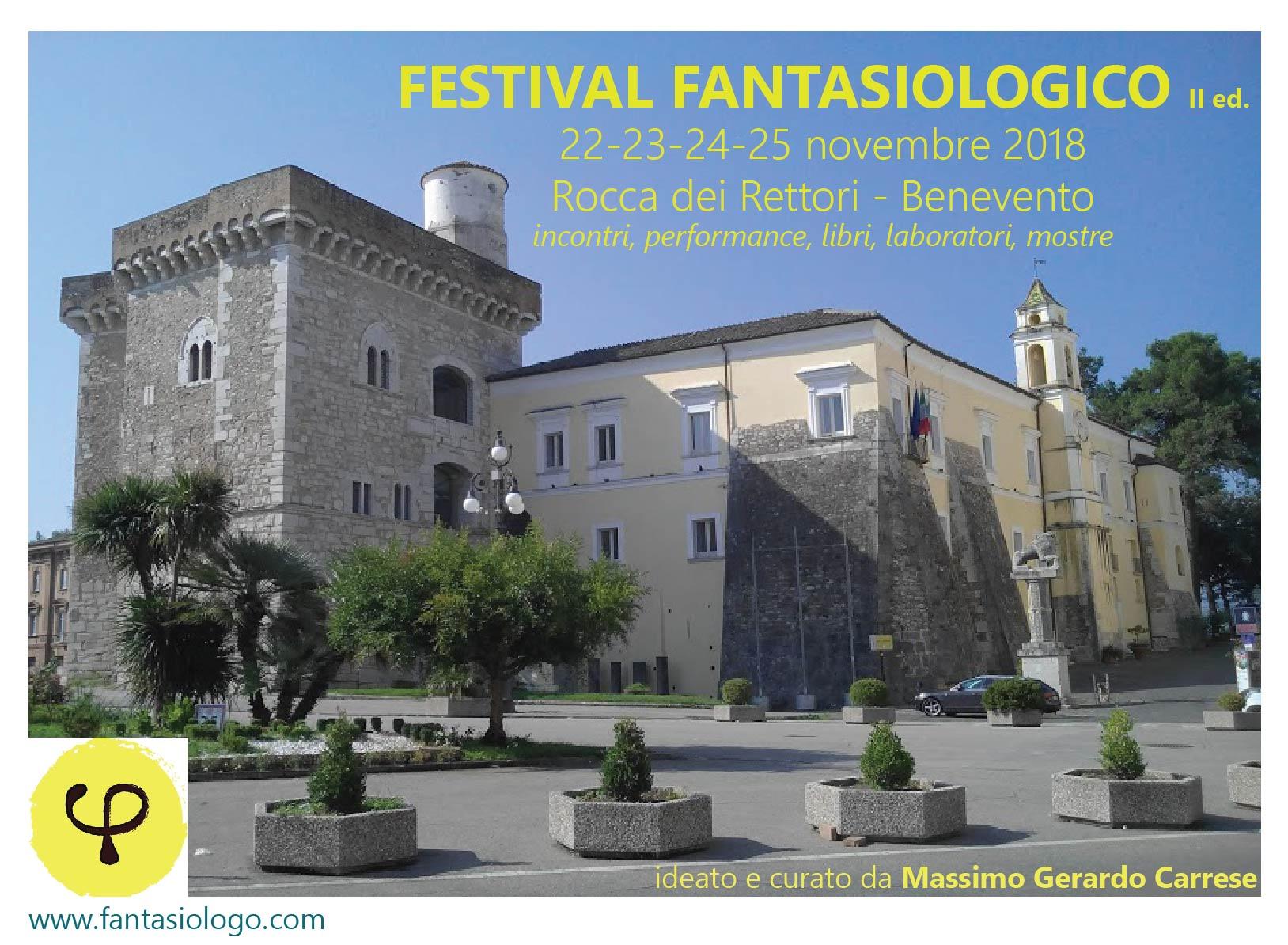 Alla Rocca dei Rettori di Benevento il Festival Fantasiologico 2018