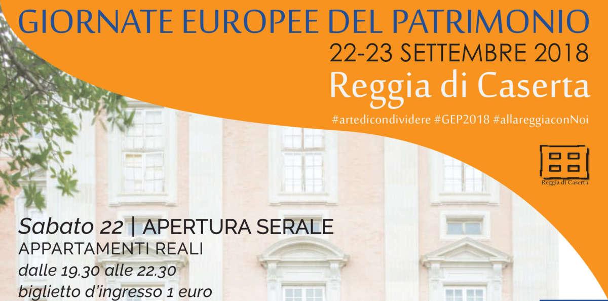 Le Giornate Europee del Patrimonio alla Reggia di Caserta