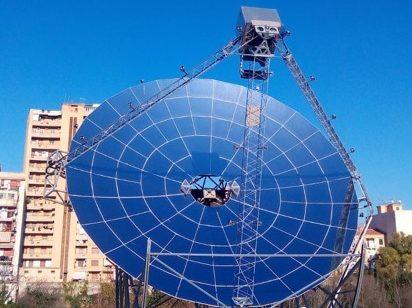 Energia Green, Graded scommette sul solare a concentrazione
