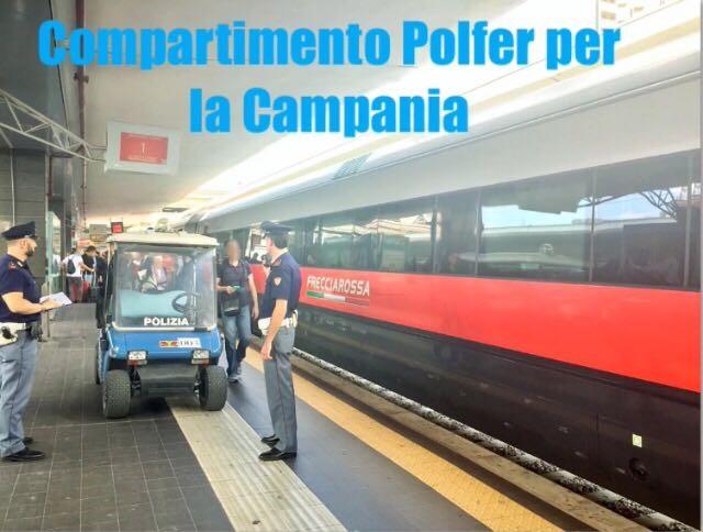 "Polfer Campania, controlli nel week-end: il resoconto del ""rail safe day"""