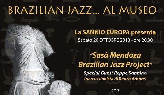 """""""Brazilian Jazz al Museo"""" ospiti all'Arcos di Benevento"""