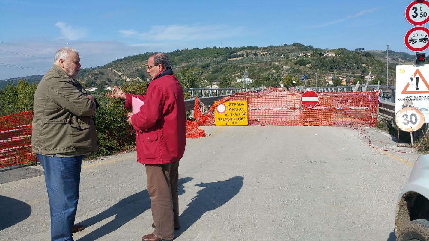 Apice, consegnati i lavori di ricostruzione del ponte Ufita