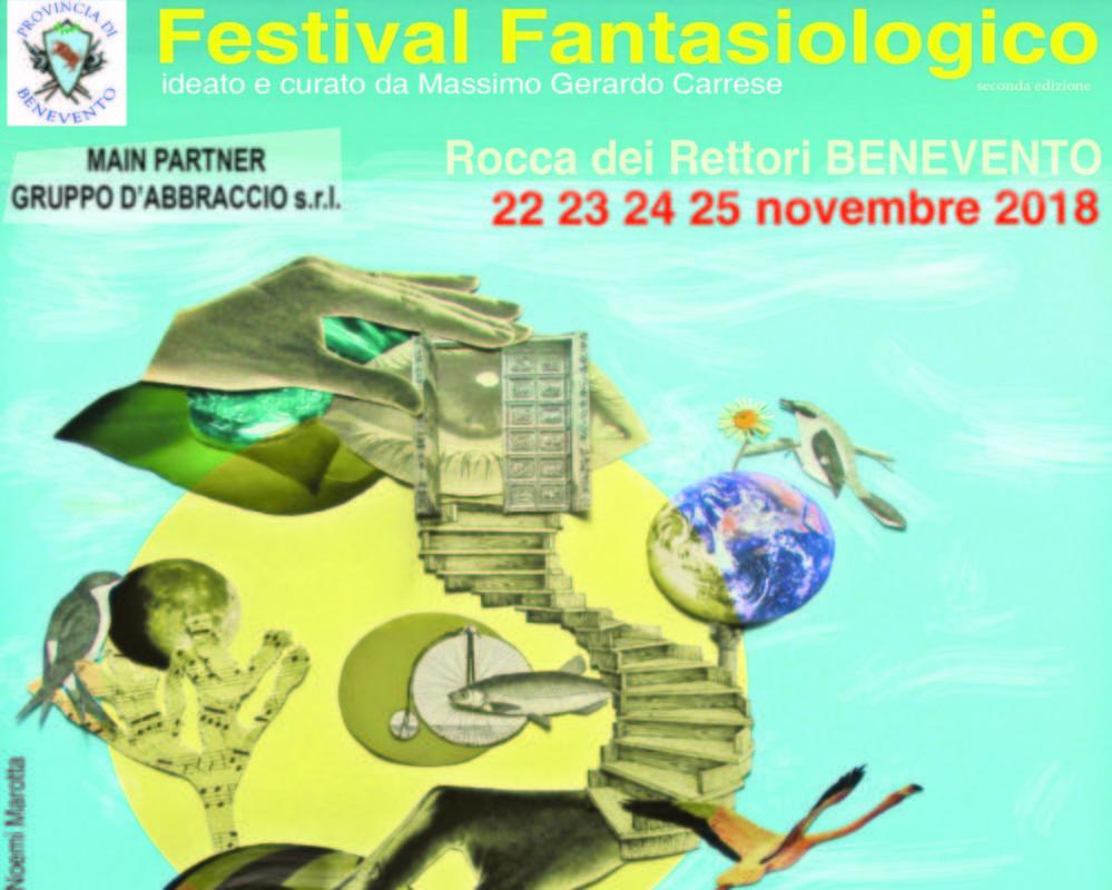 Festival Fantasiologico a Benevento, appuntamento dal 22 al 25 novembre