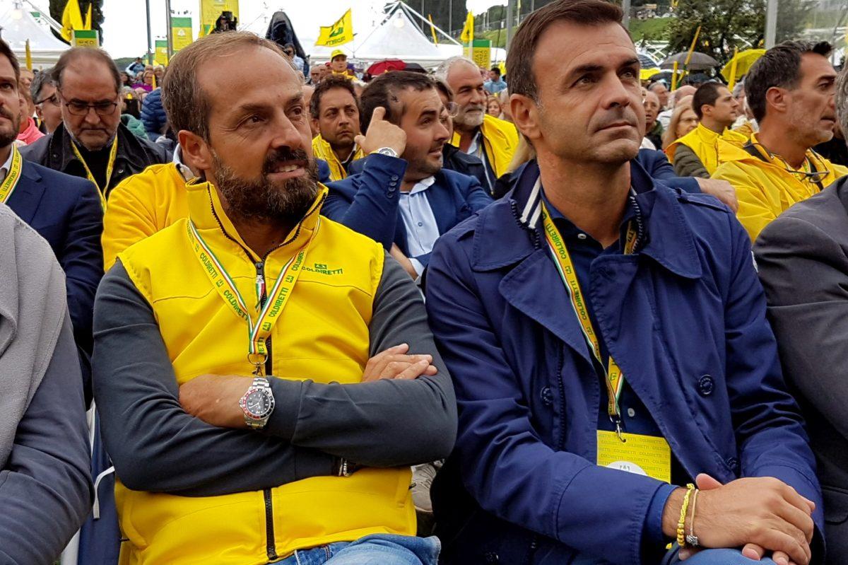 La solidarietà dalla Coldiretti Campania a Gino Sorbillo