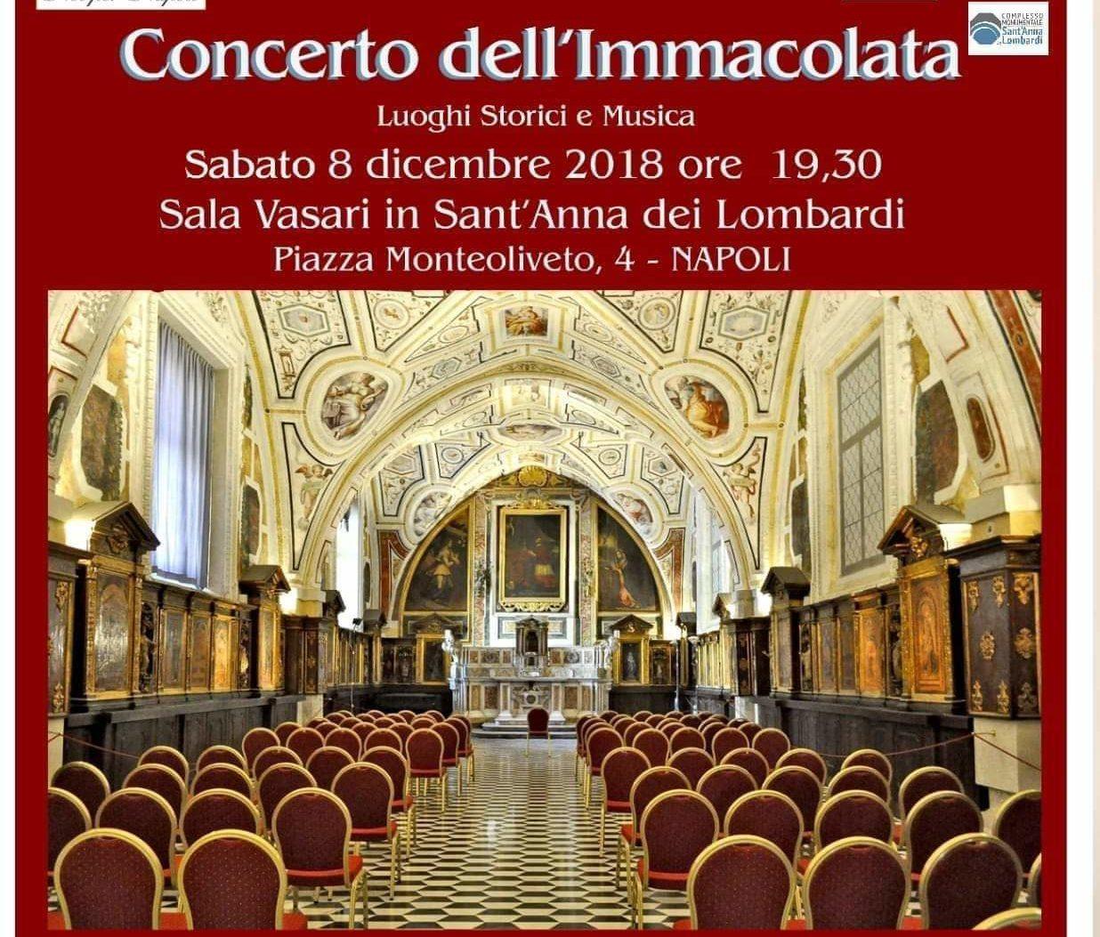 L'Associazione Noi per Napoli presenta il Concerto dell'Immacolata 2018