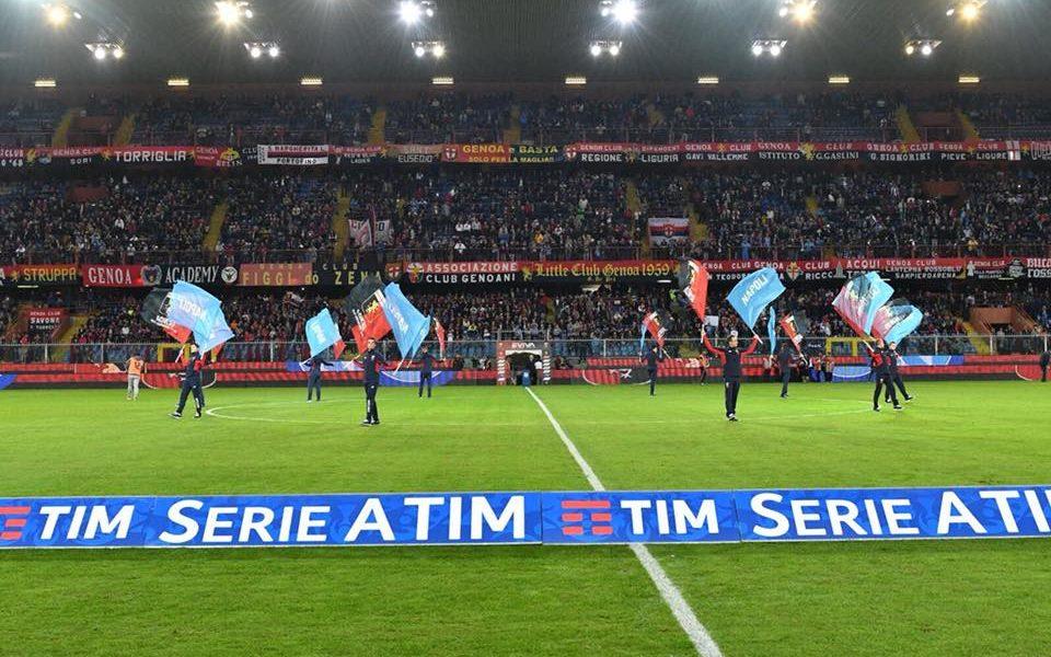 Genoa-Napoli: tutto pronto a Marassi, Ancelotti si affida a Milik