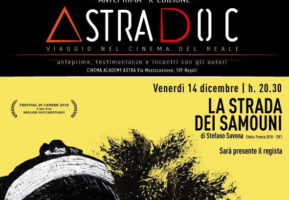 Astradoc, arriva il regista Stefano Savona per una Masterclass