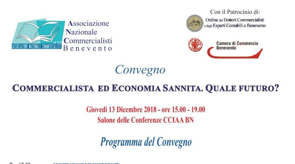 Futuro dell'economia sannita, focus dell'associazione dei commercialisti di Benevento