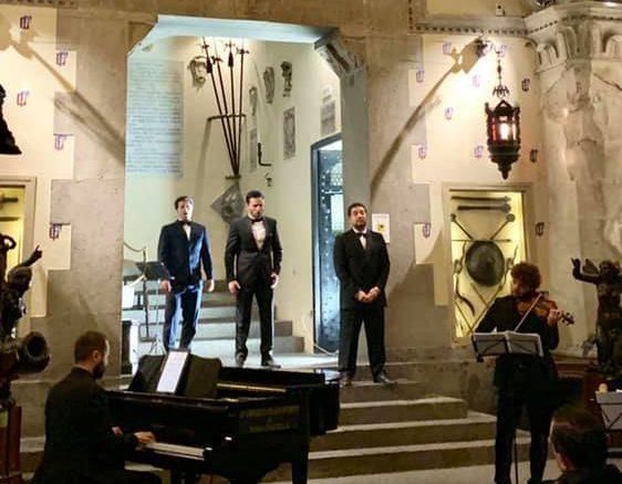 'I Tre Tenori': ultimo concerto al Museo Filangieri di Napoli